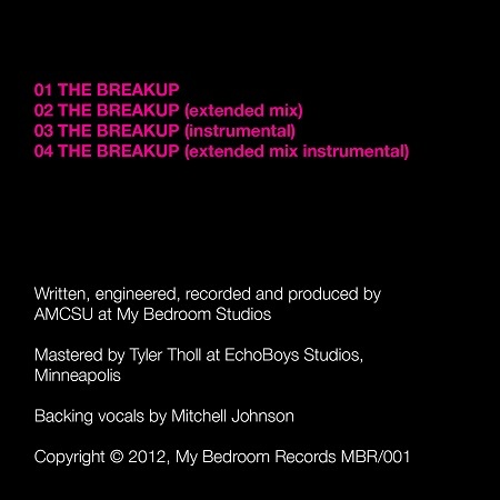 The Breakup back cover